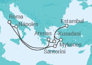 Italia, Grecia y Turquía