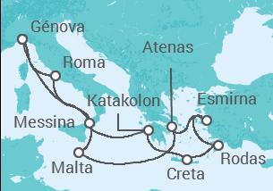 Italia, Grecia, Turquía, Malta