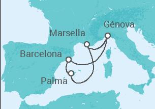 España, Francia, Italia
